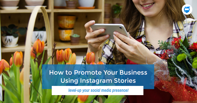 promote business using IG stories