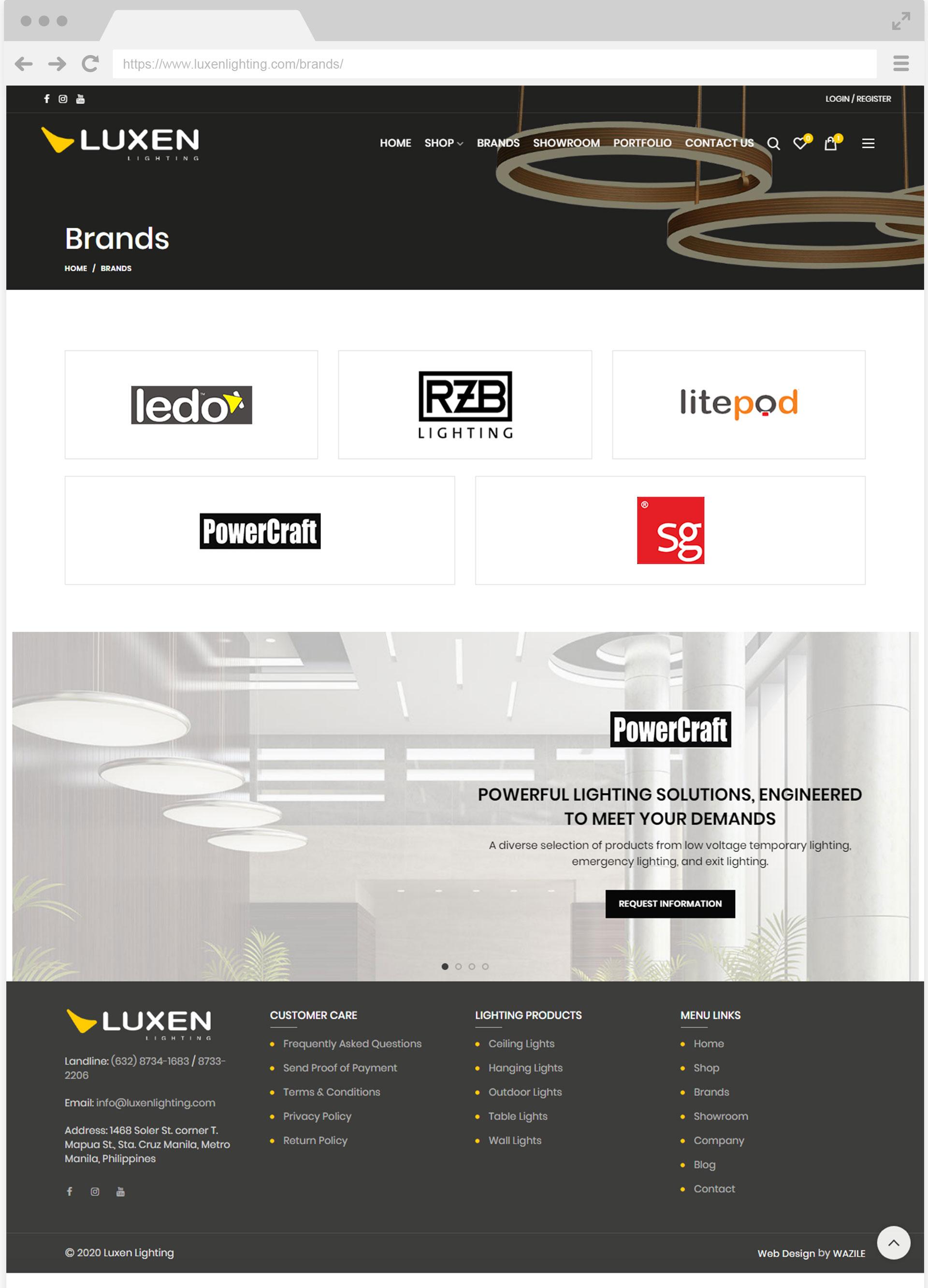 Luxen Lighting Brands
