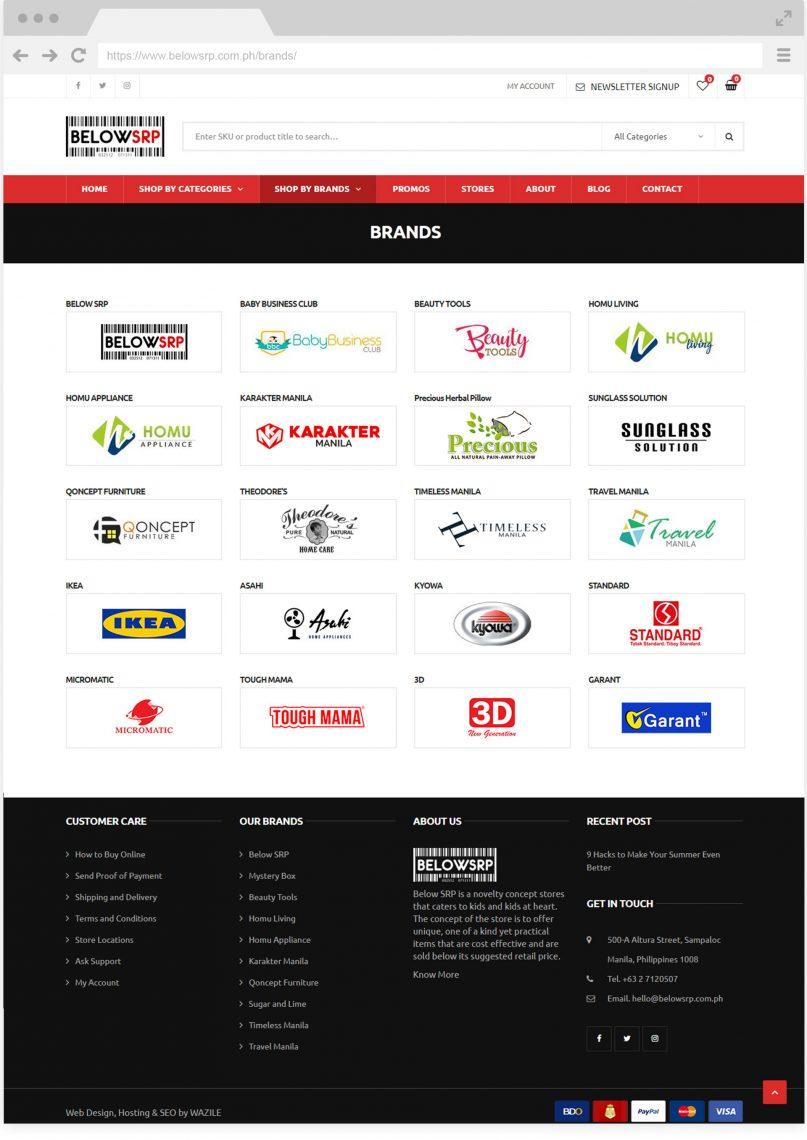 Below SRP Brands