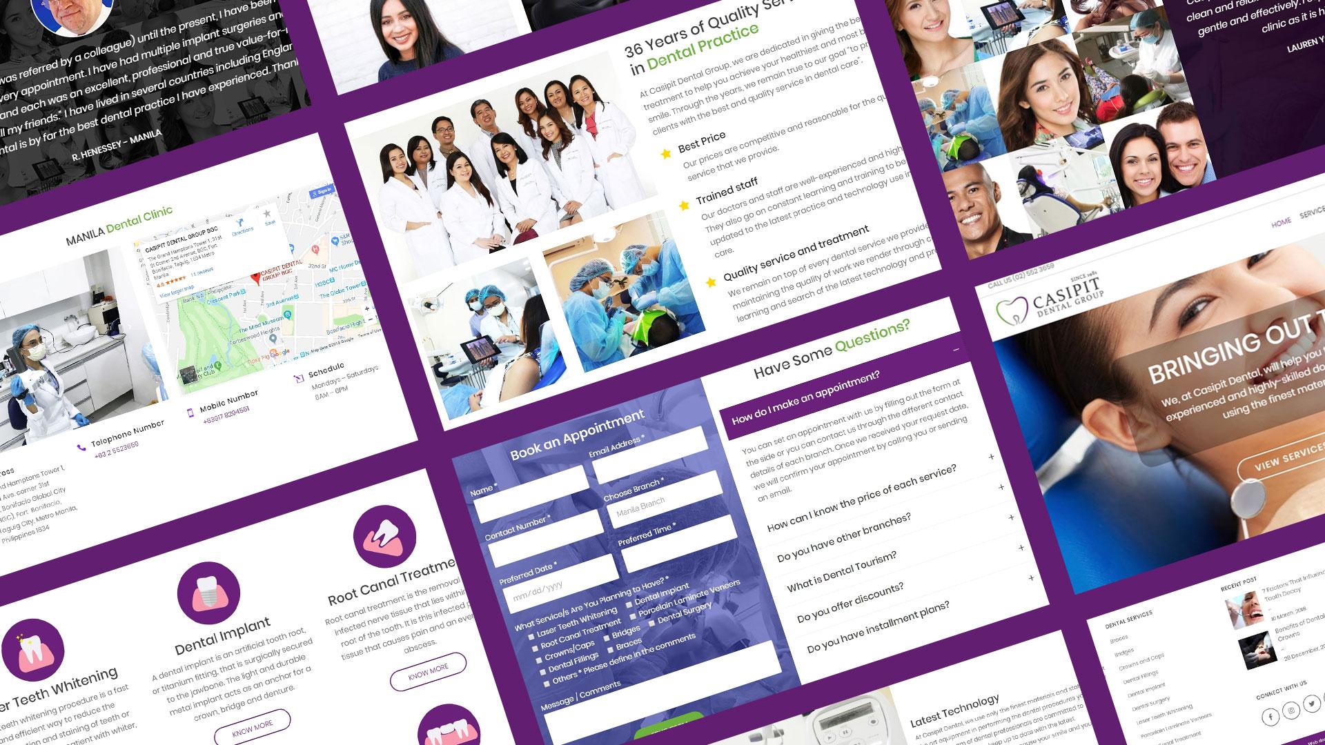 Casipit Dental Group Screenshots