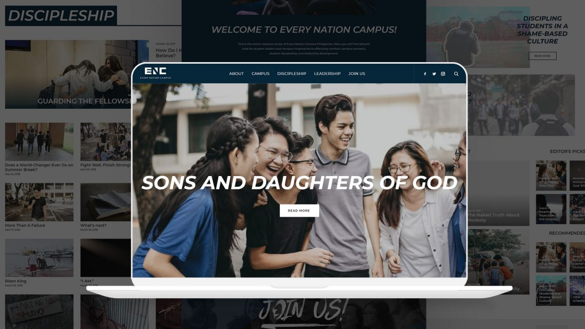 Every Nation Campus Website