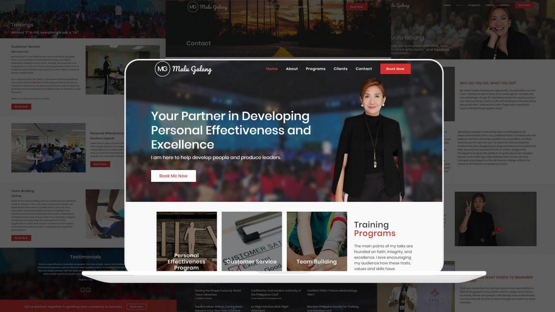Malu Galang Website