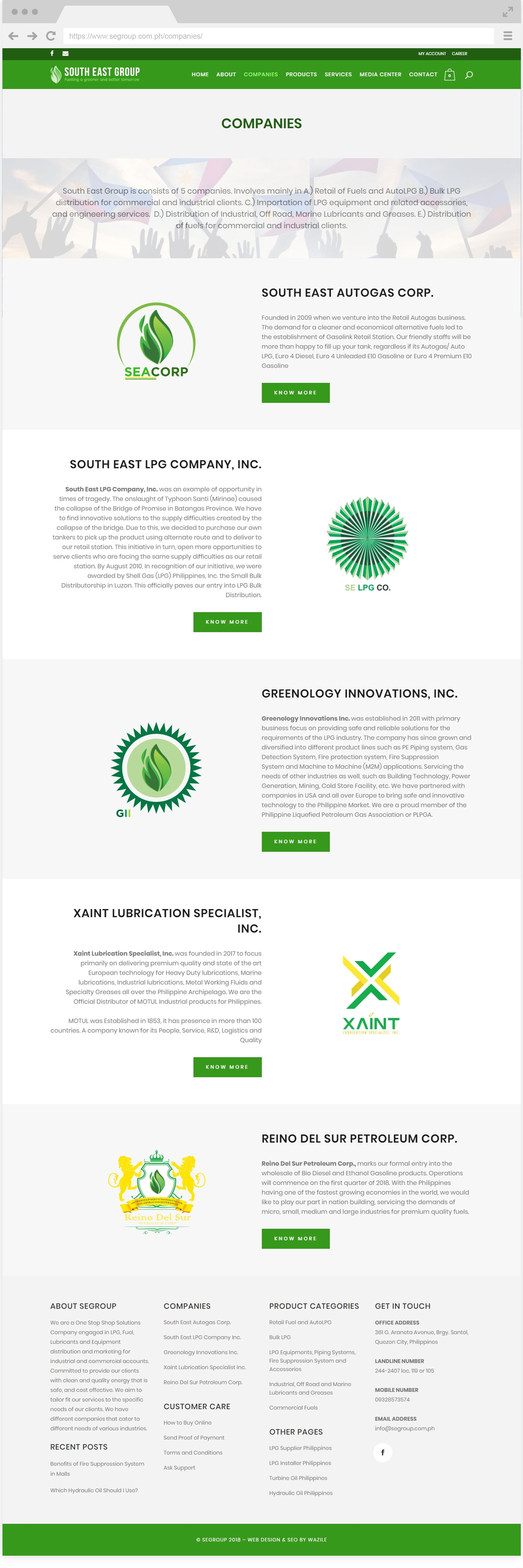South East Group Companies