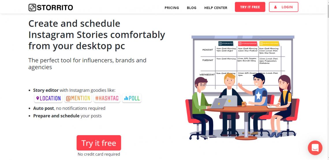 Storrito - IG Free Scheduling App