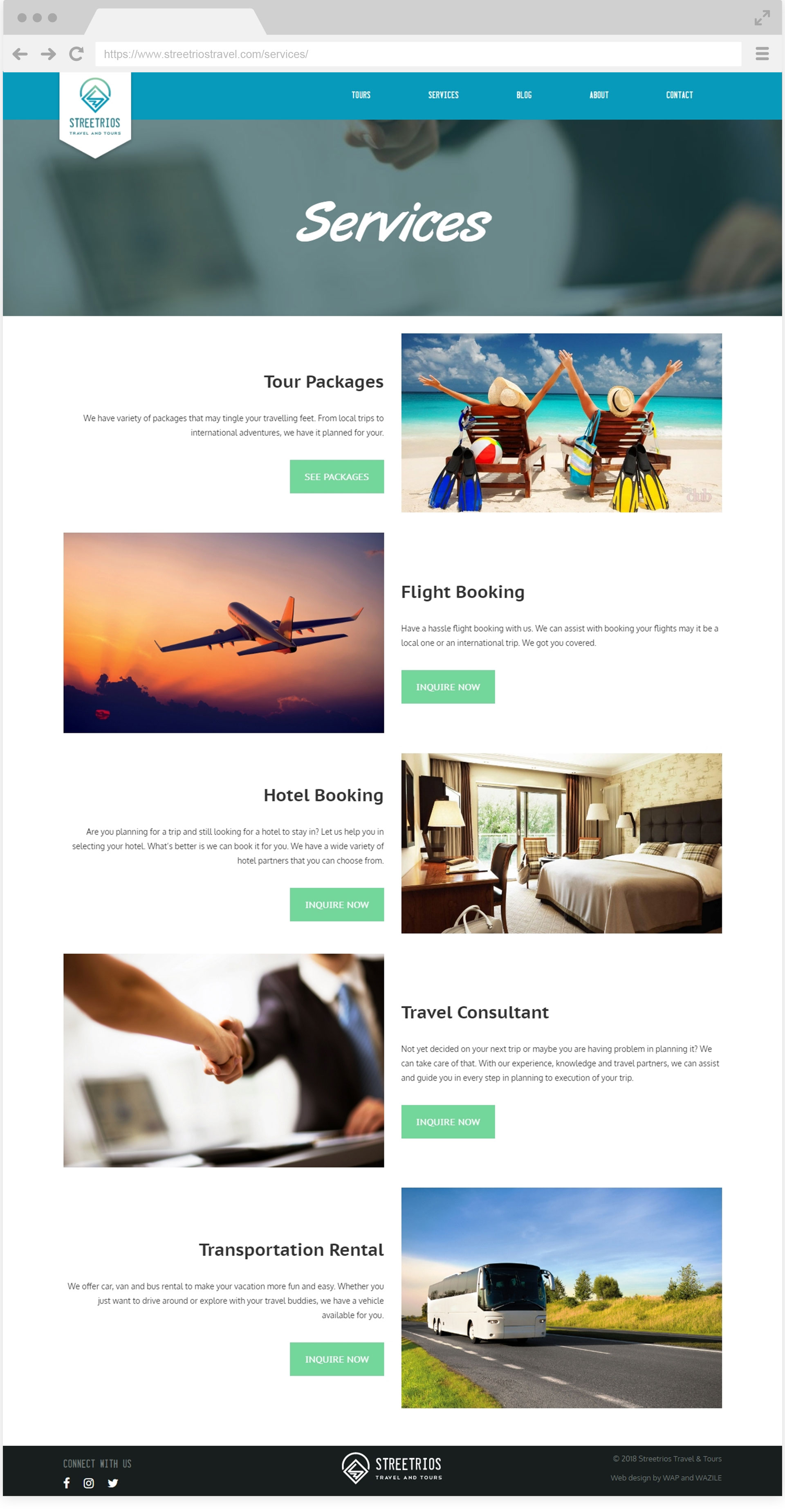 Streetrios Travel Services