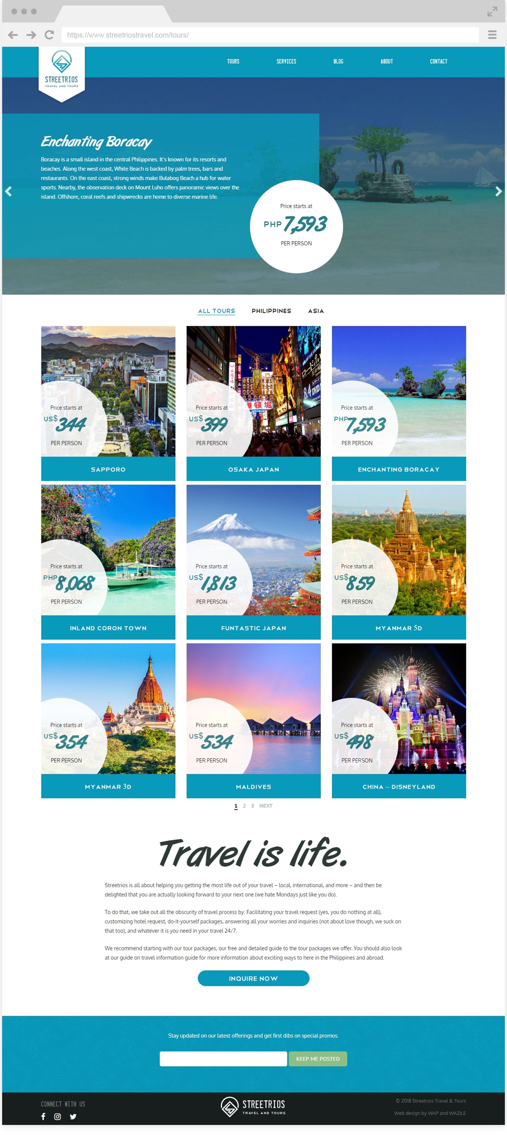 Streetrios Travel Tours