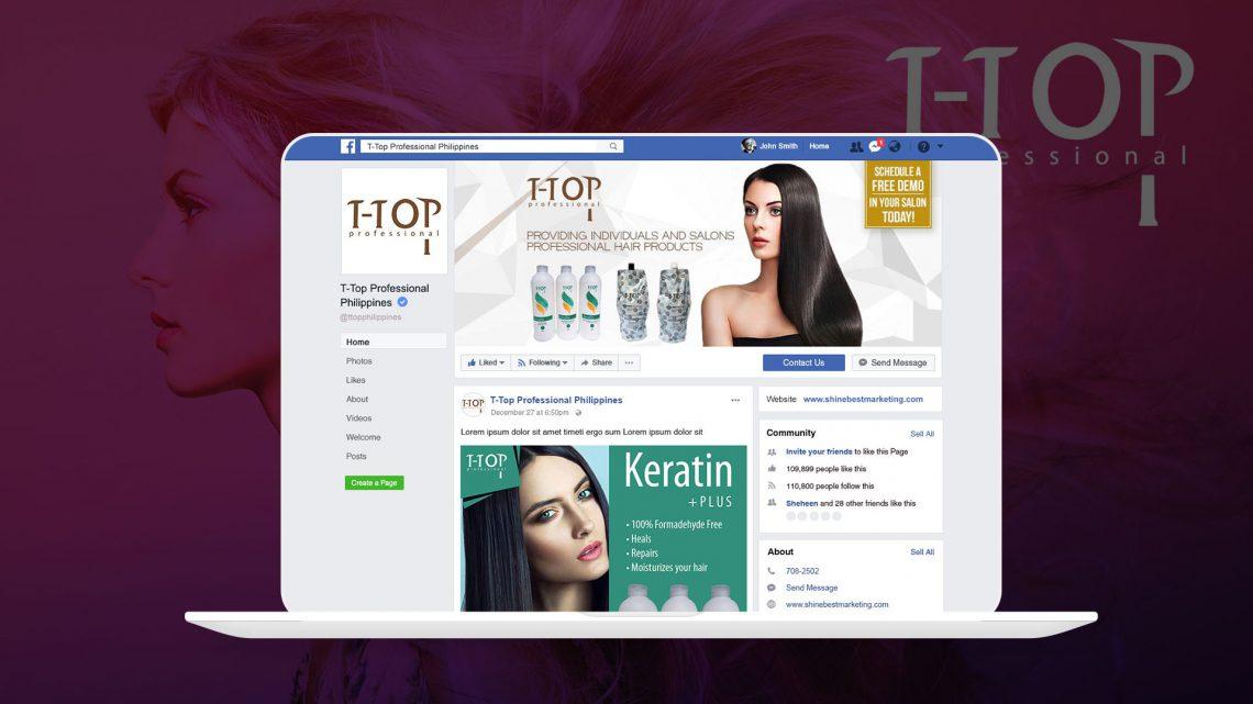 T-top Philippines Facebook