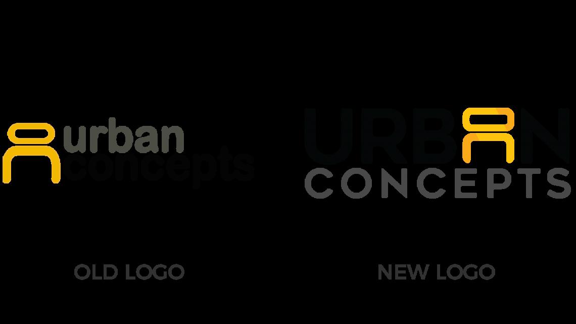 Urban Concepts Logo Comparison