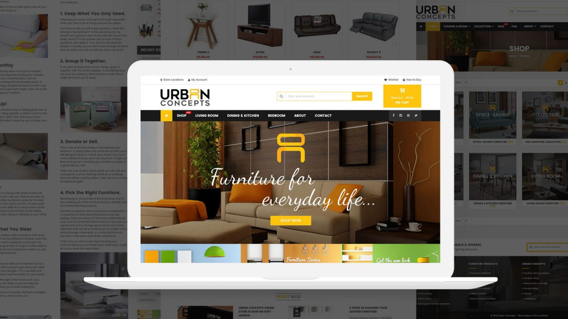 Urban Concepts Website