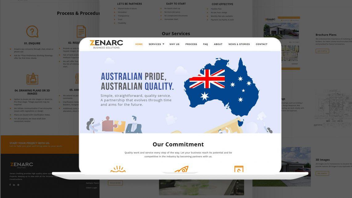 Zenarc Website