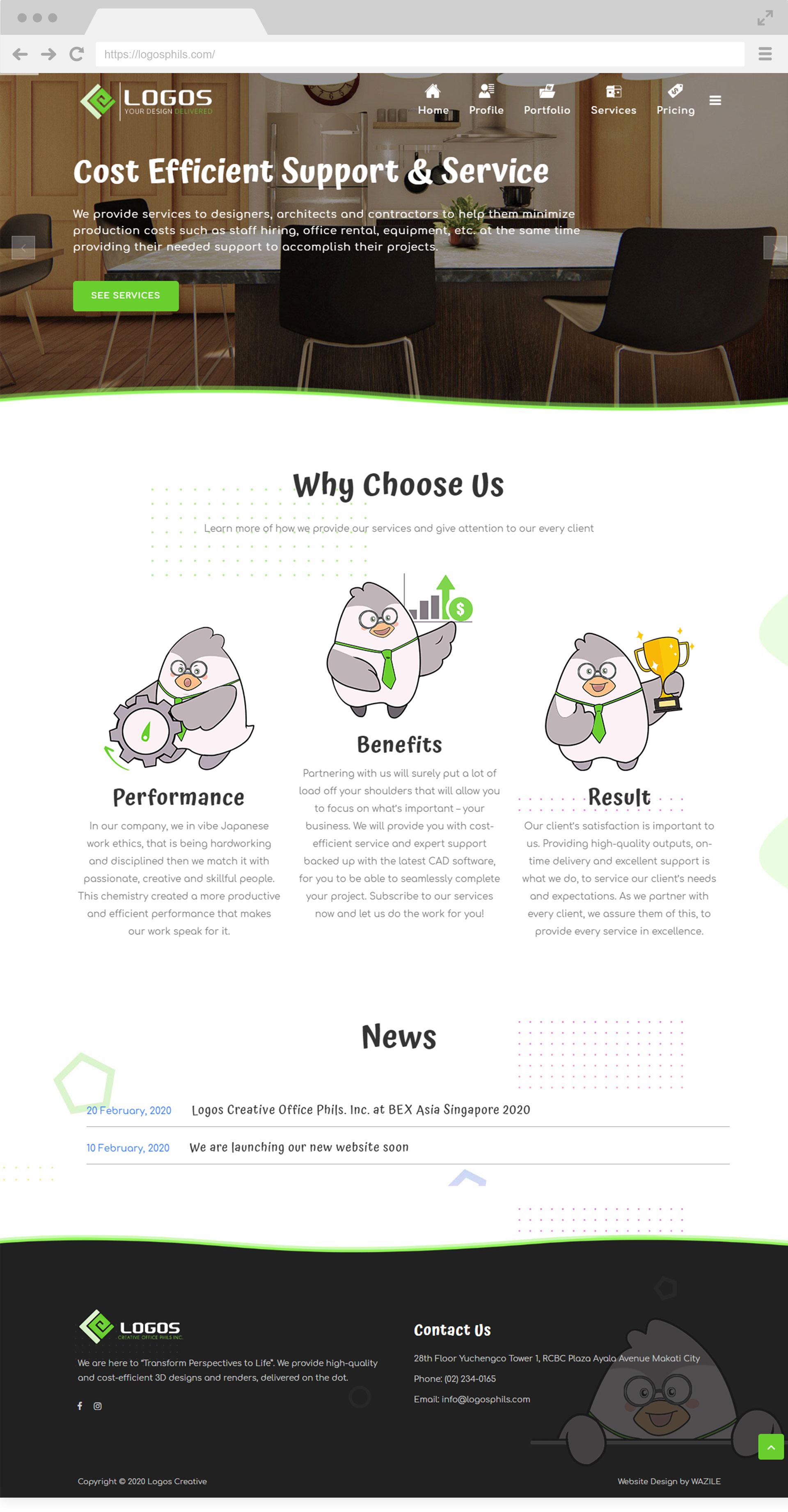 Logos Creative Homepage