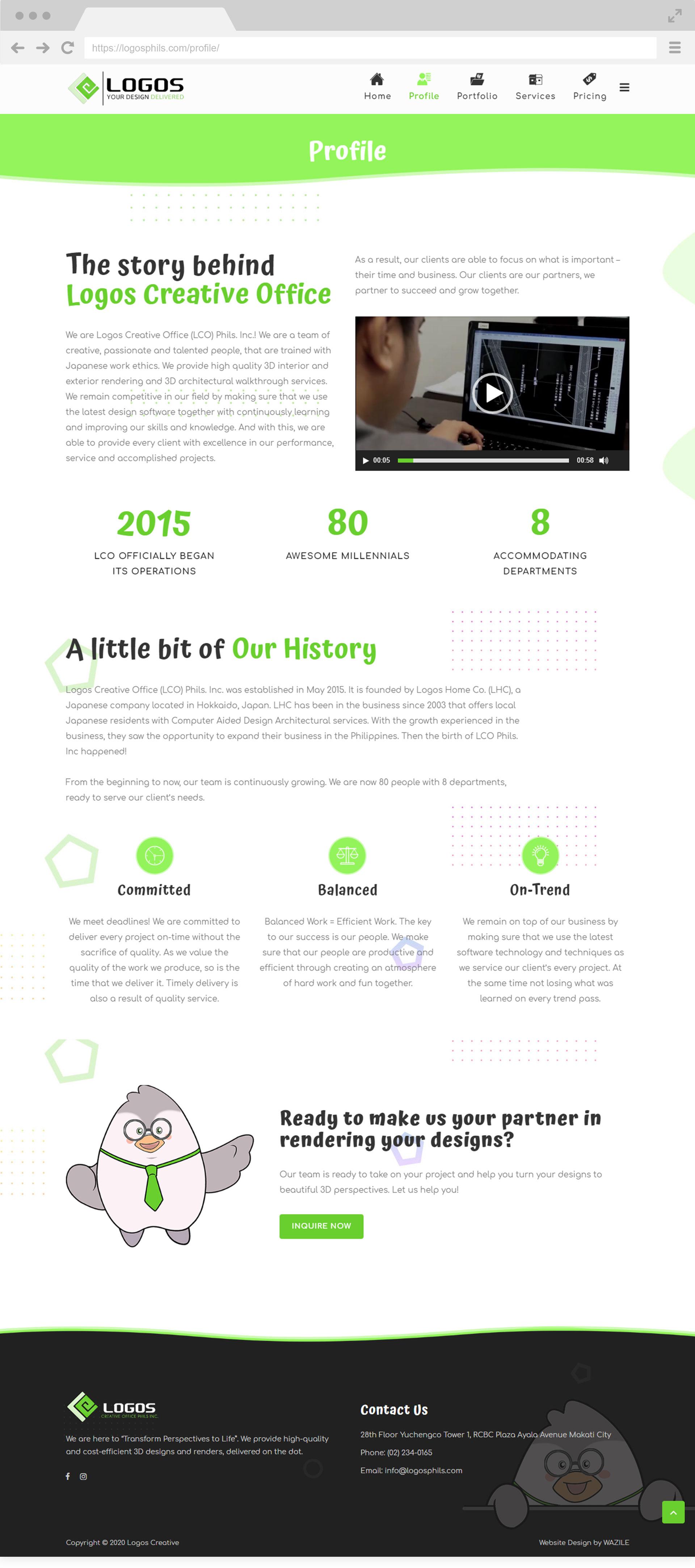 Logos Creative Profile