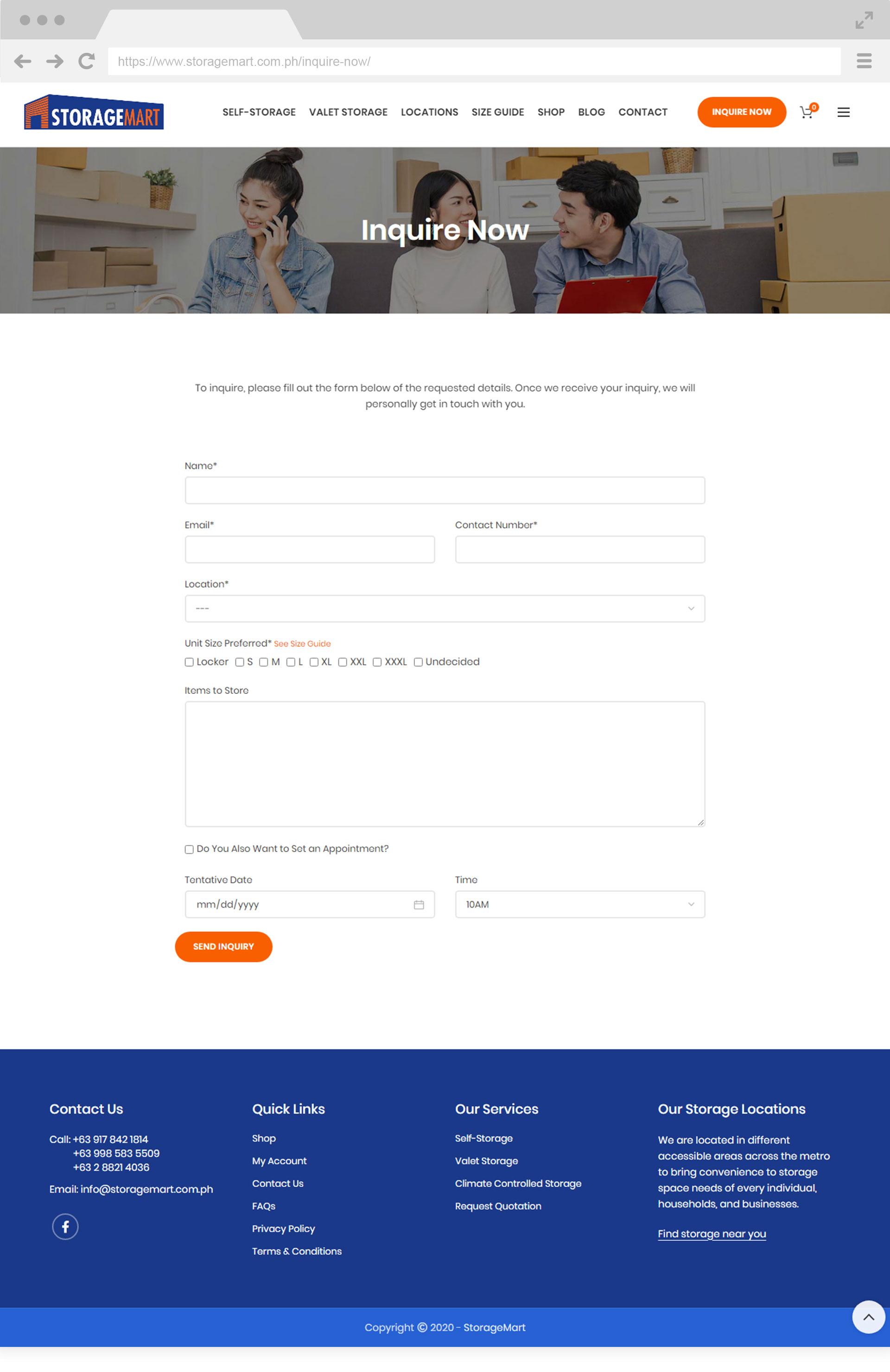 StorageMart Inquire