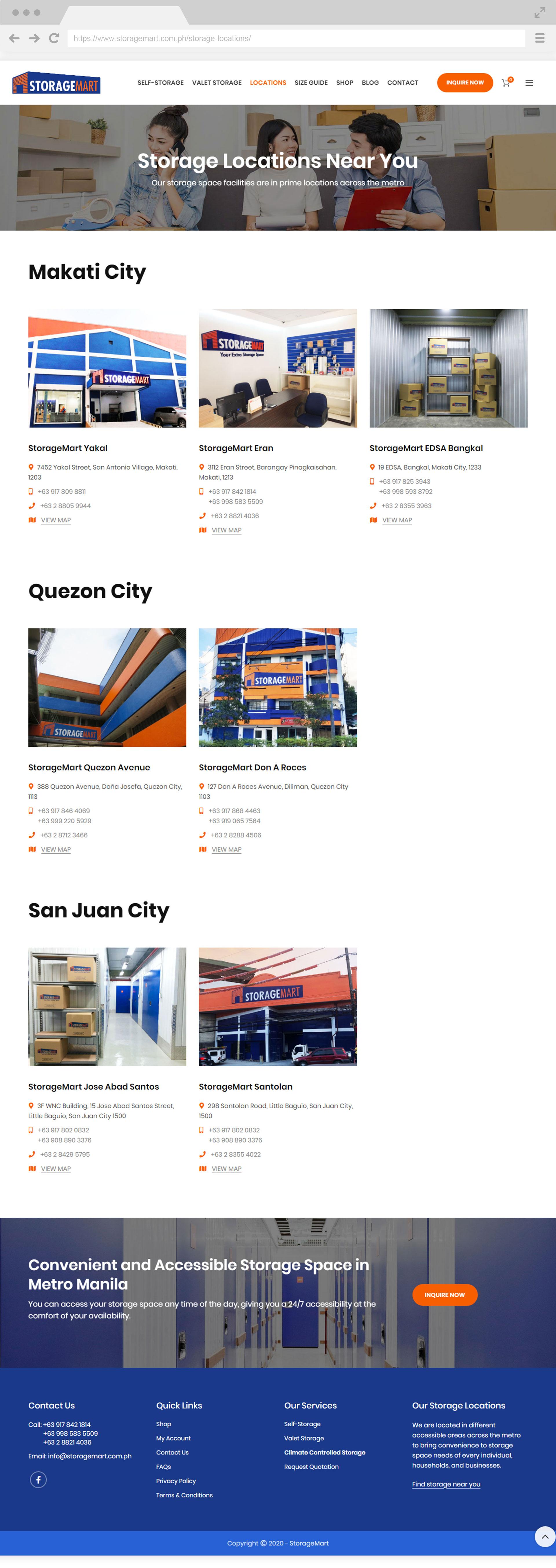 StorageMart Locations