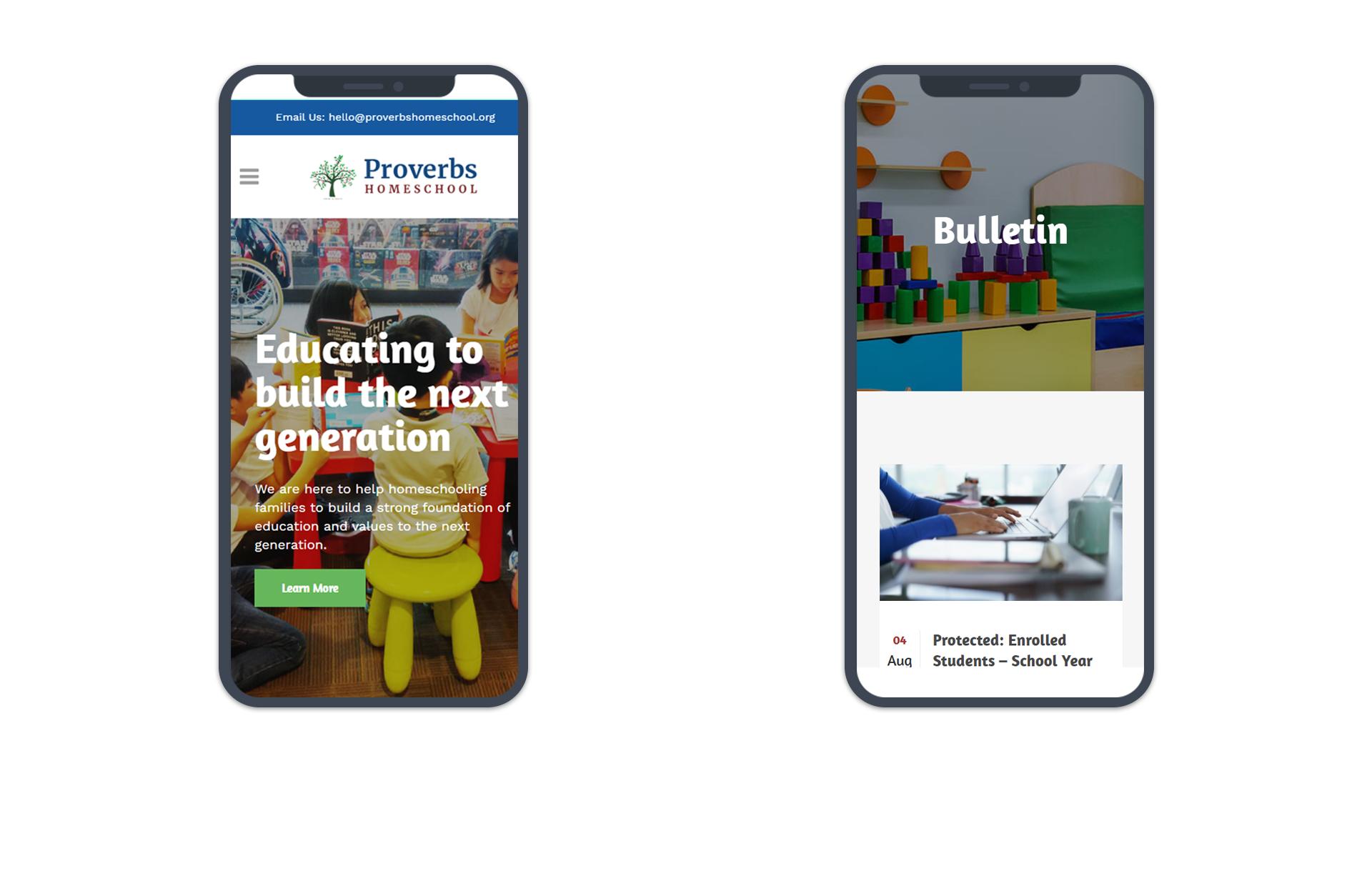 Proverbs Homeschool Mobile