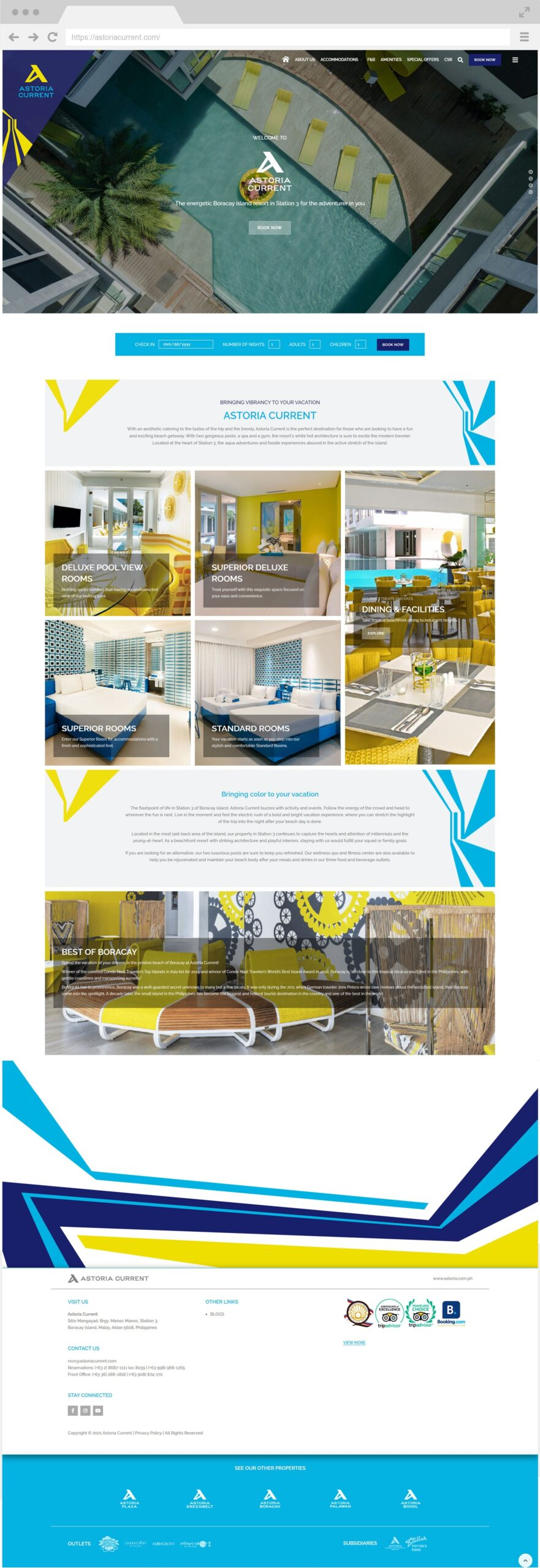 Astoria Current Homepage