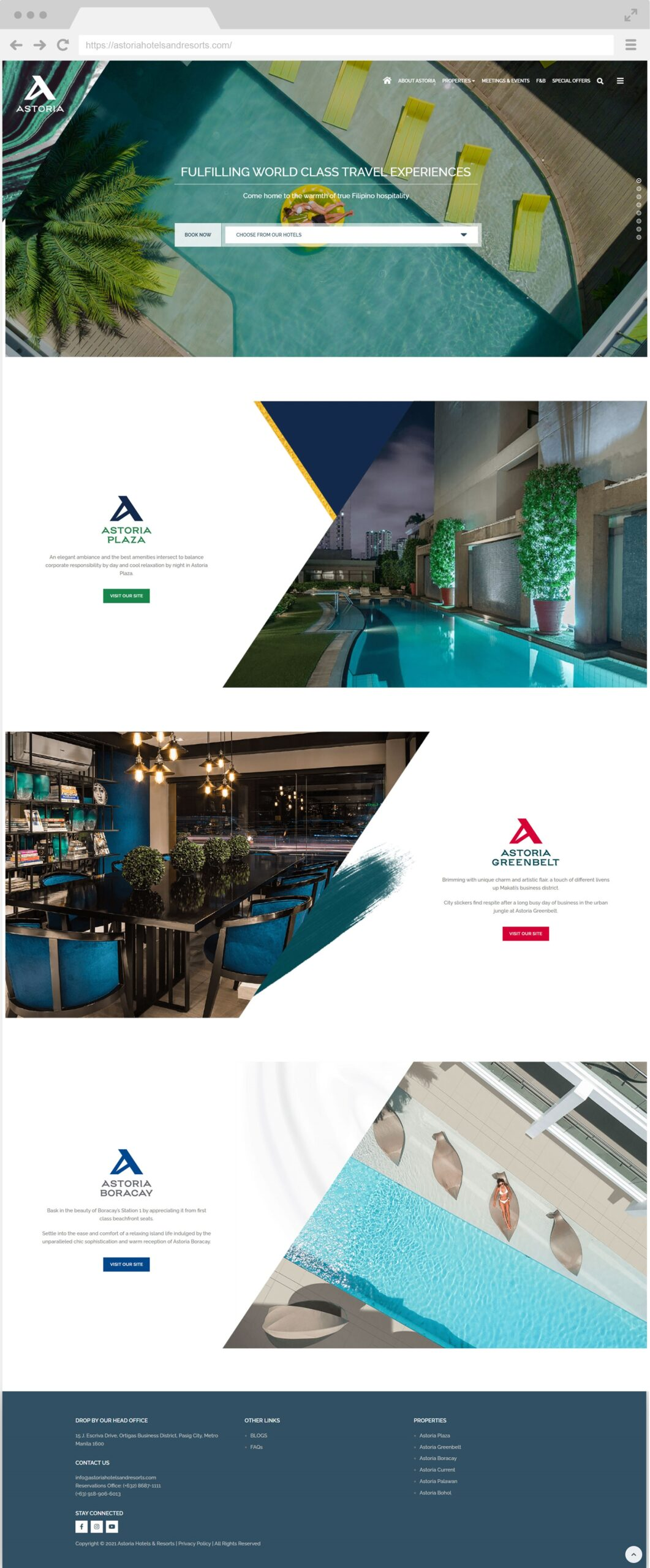 Astoria Homepage