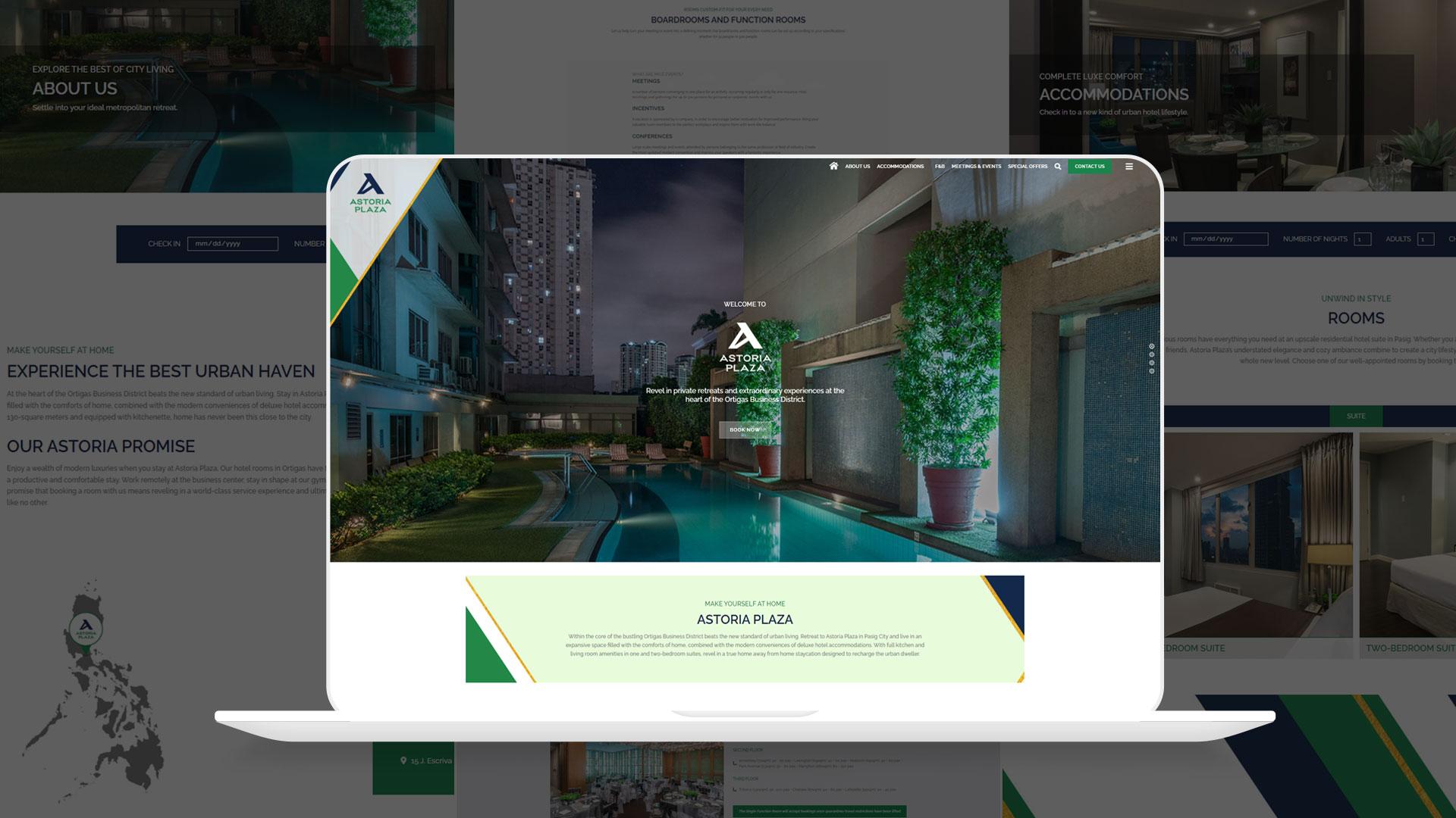 Astoria Plaza Desktop