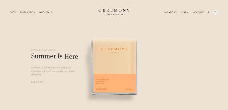 ceremony coffee