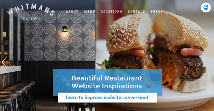 restaurant website inspirations manila