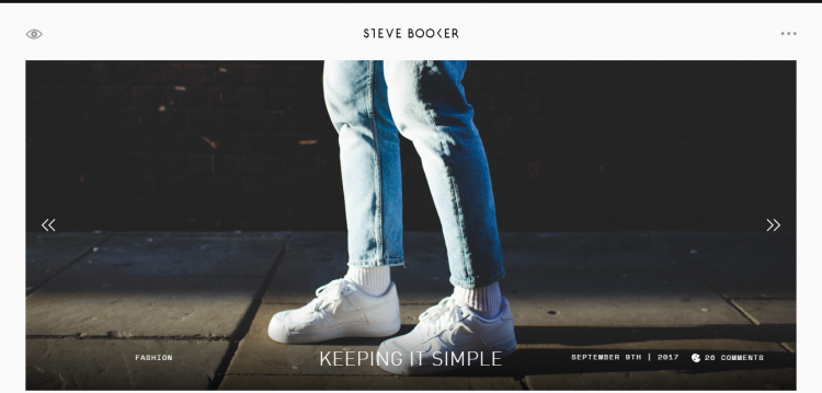 steve booker web design