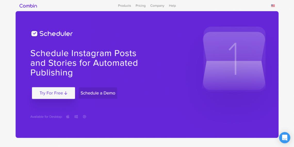 Combin - Schedule Instagram Posts and Stories