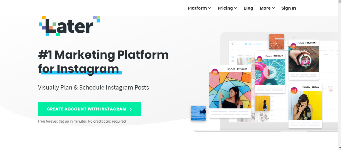 Later - Automated Instagram Scheduling App