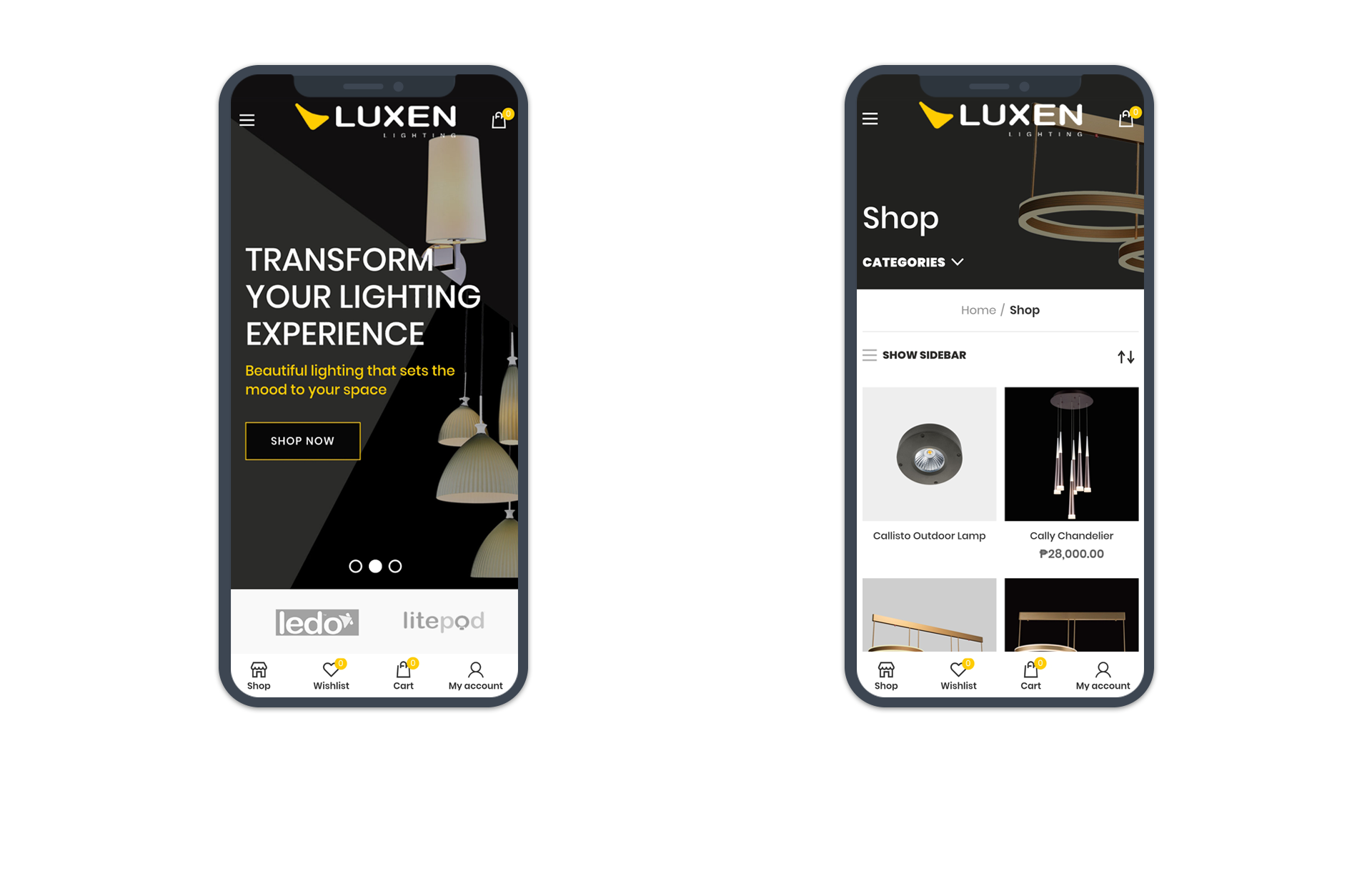Luxen Lighting Mobile