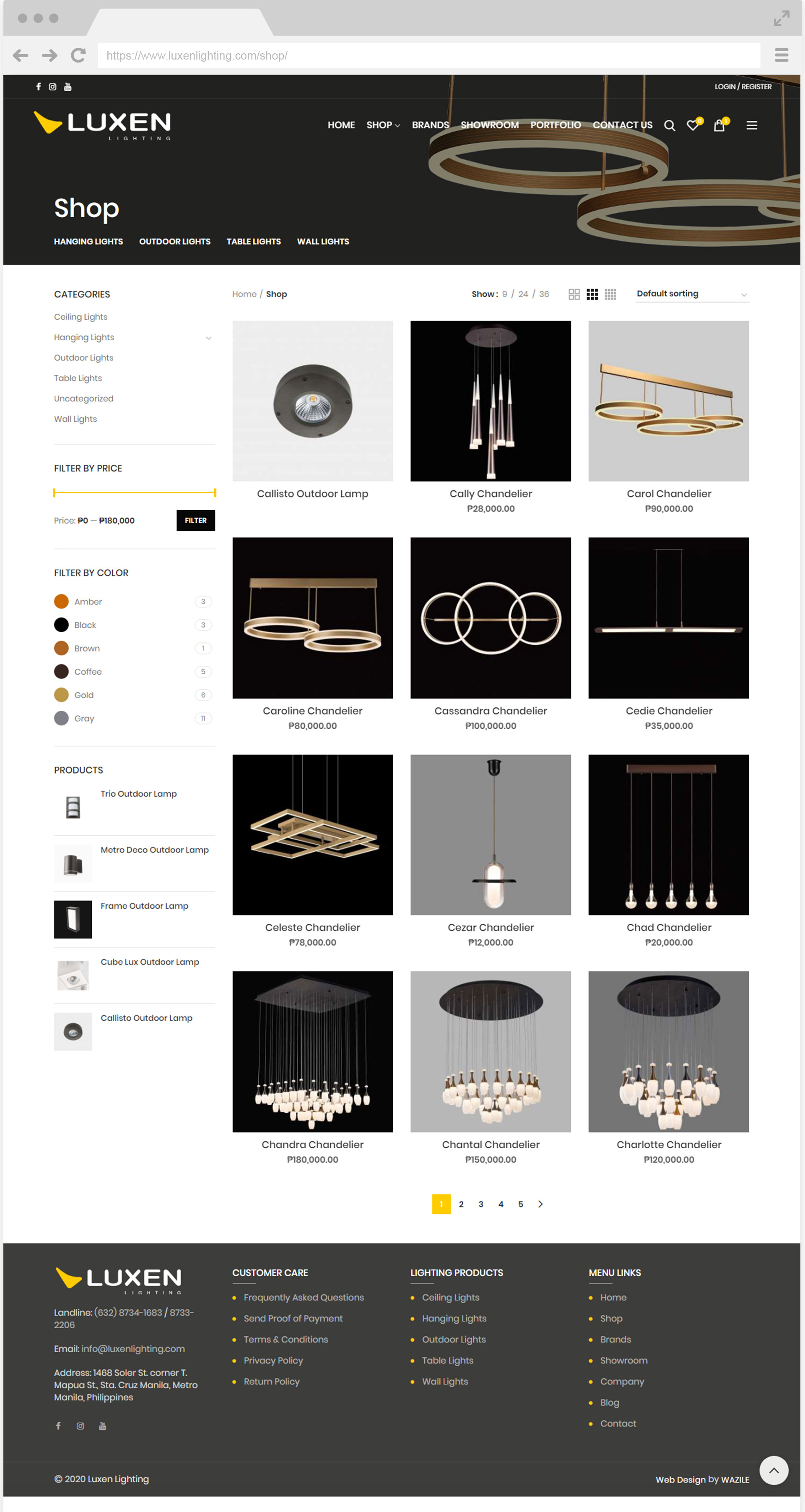 Luxen Lighting Shop