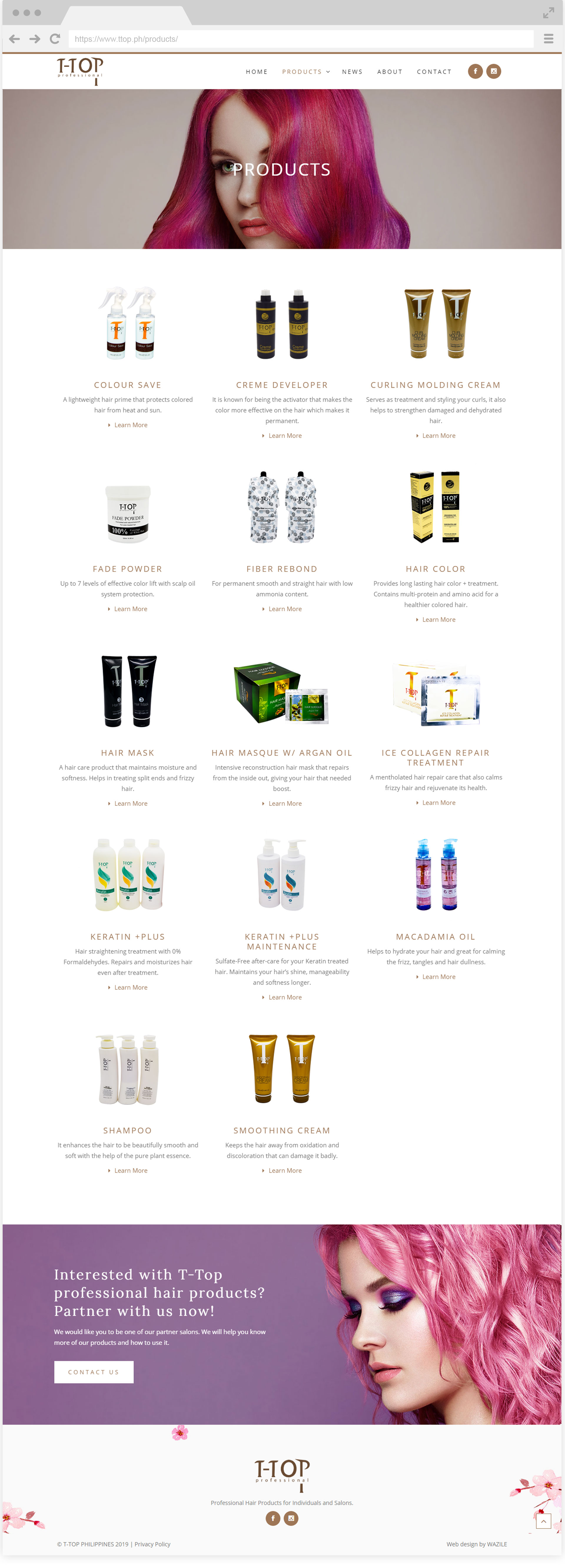 T-top Philippines Products