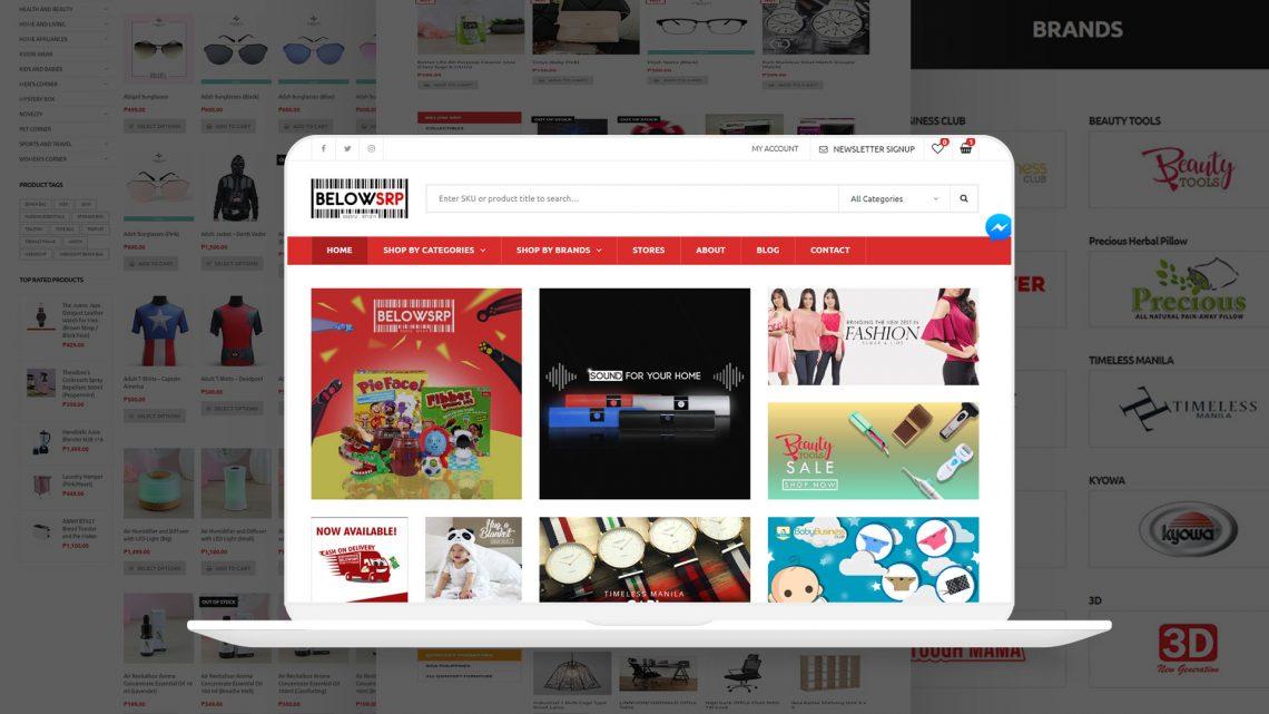 Below SRP Website