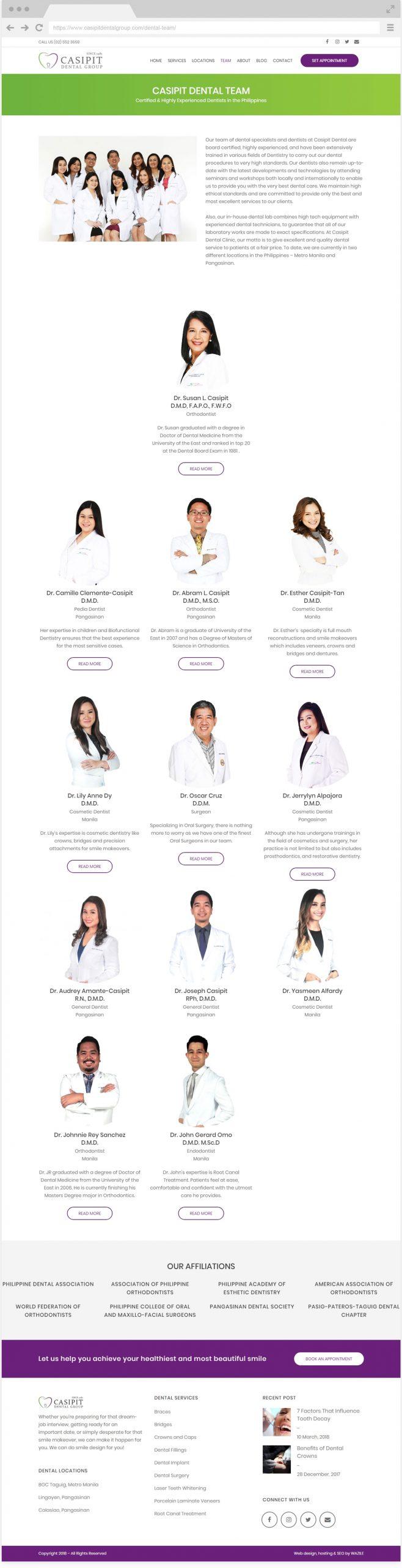 Casipit Dental Group Team