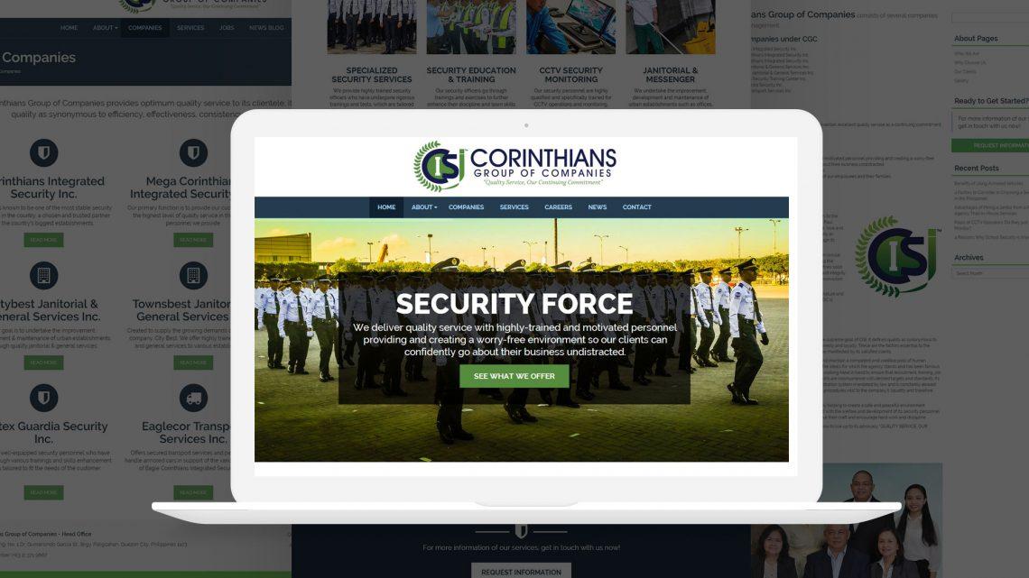 Corinthians Group Website