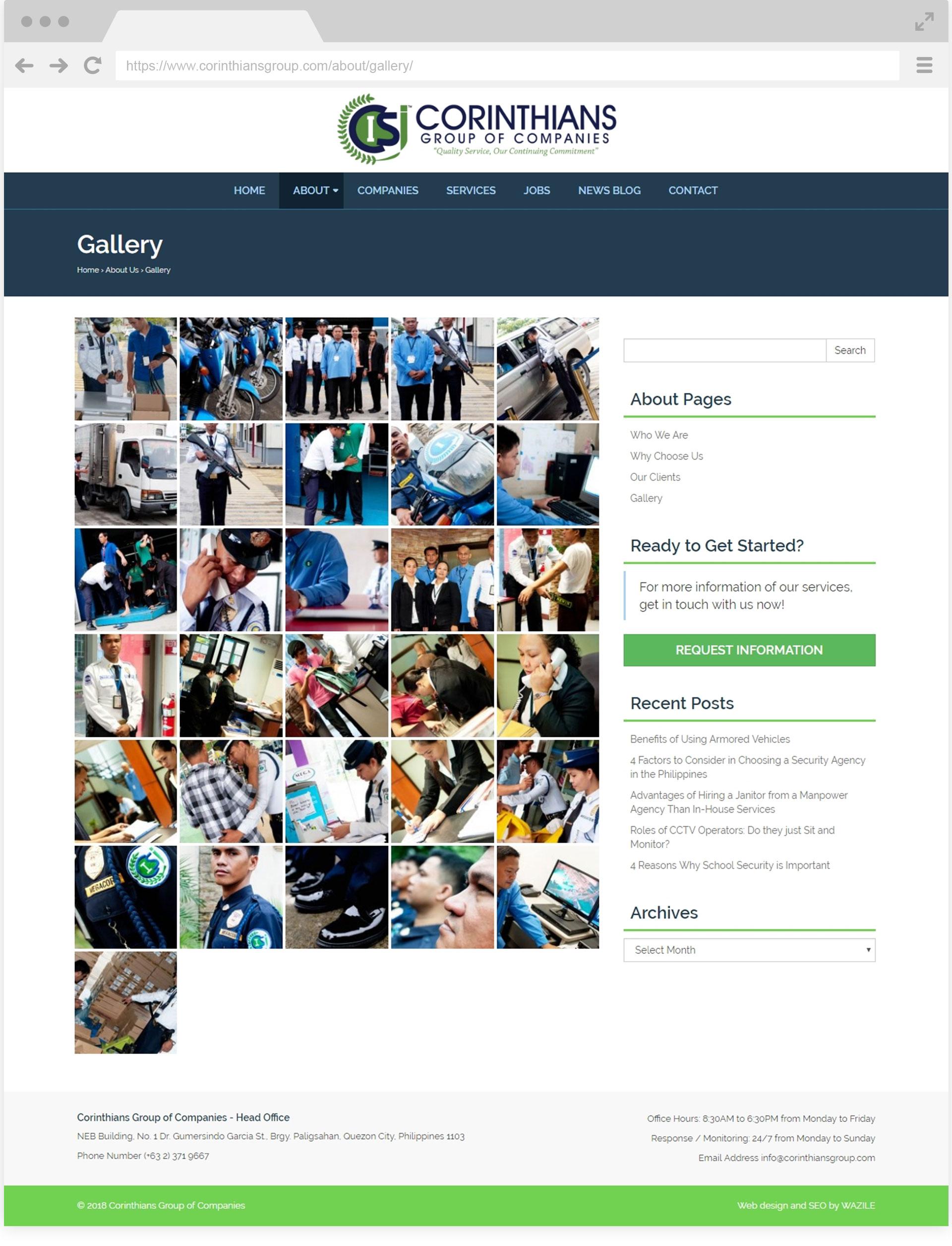 Corinthians Group Gallery