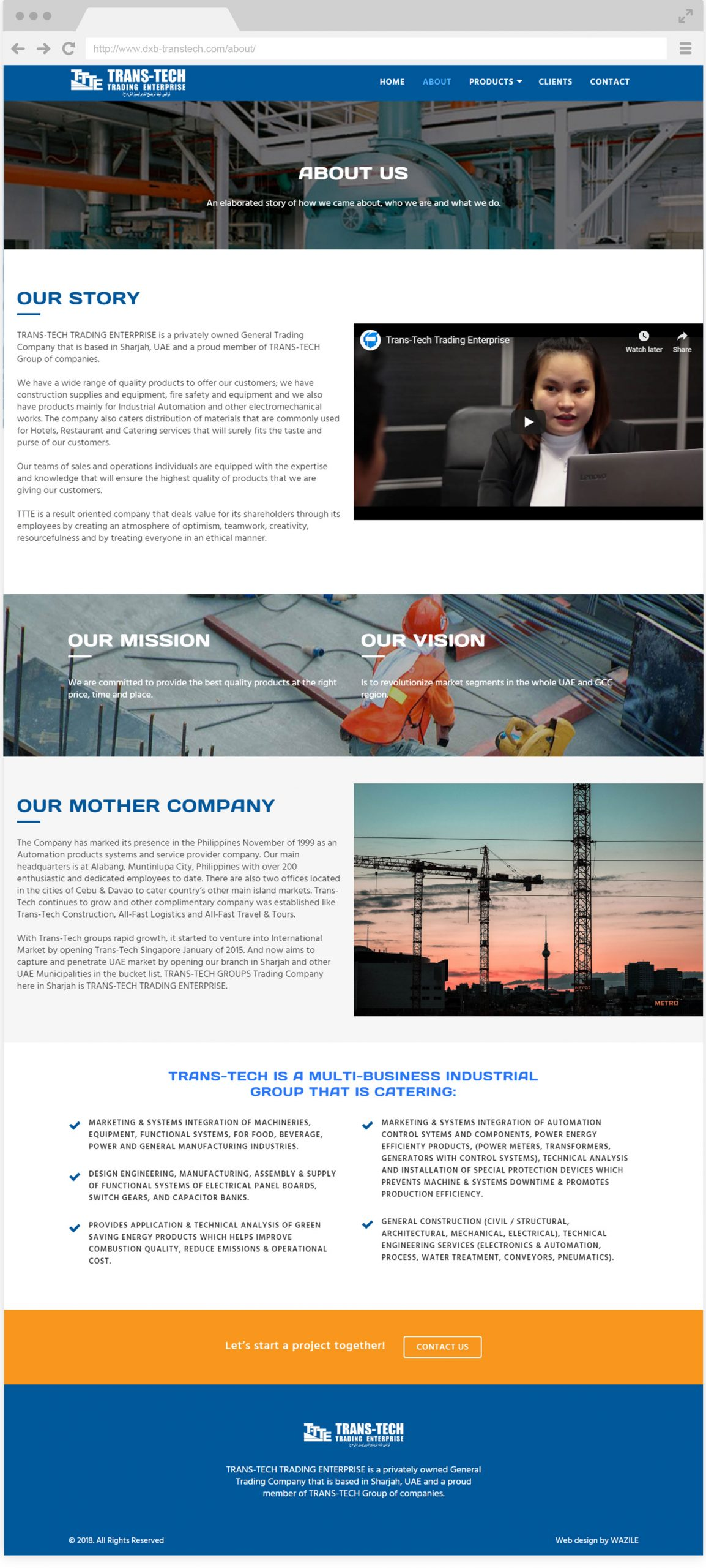DXB Transtech About