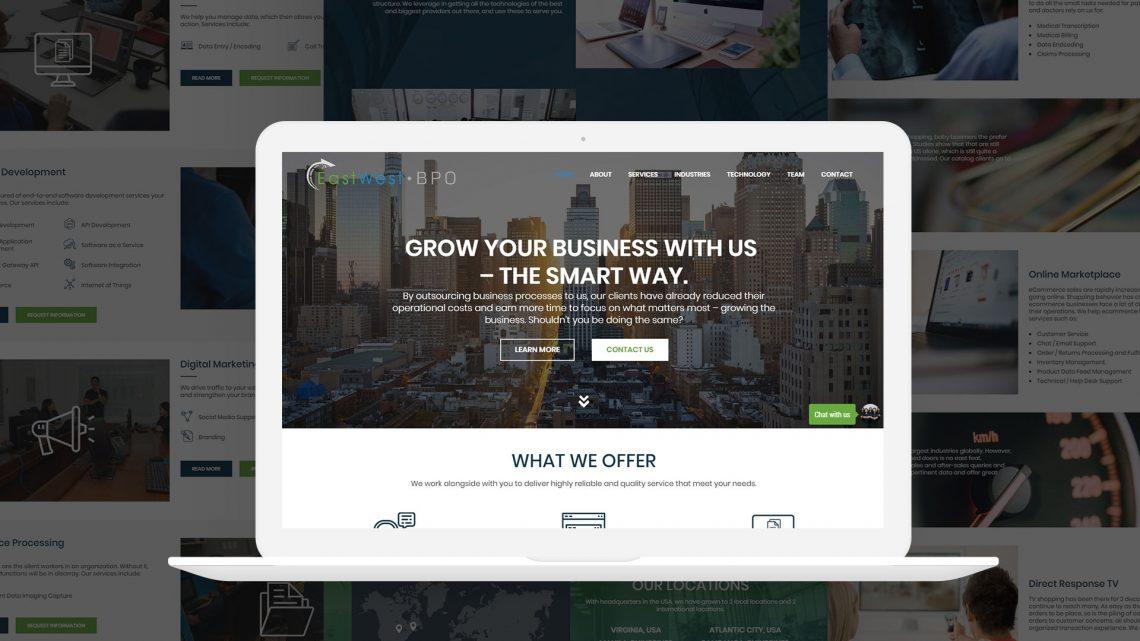 EastWest BPO Website