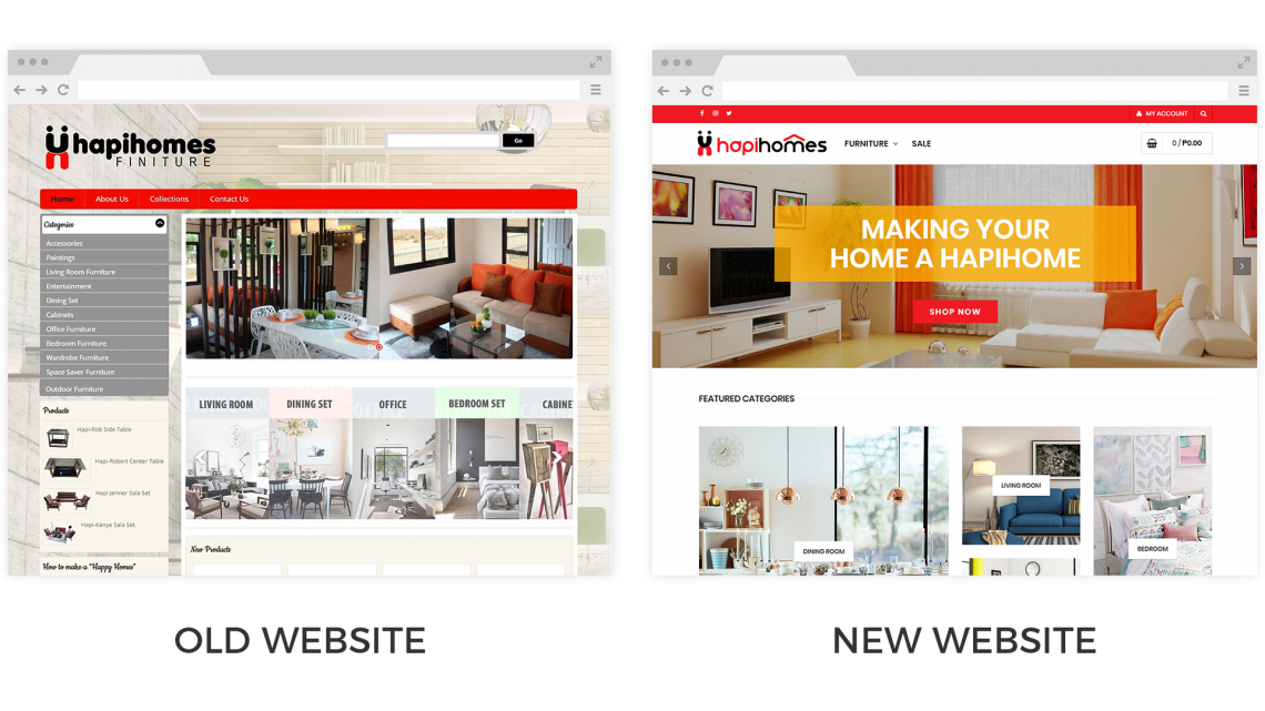 Hapihomes Old New Site