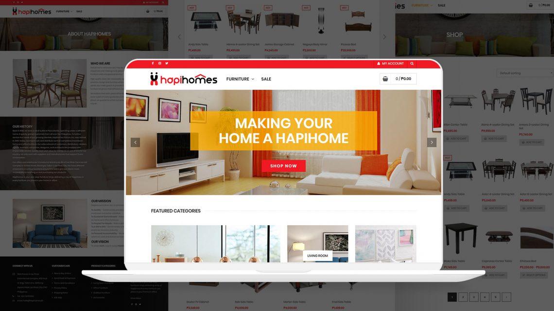 Hapihomes Website