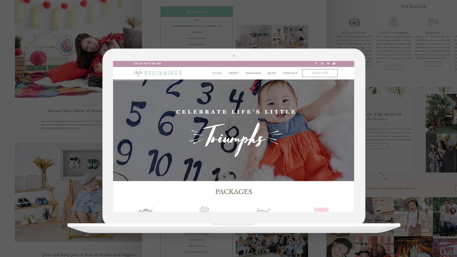 Mayad Beginnings Website