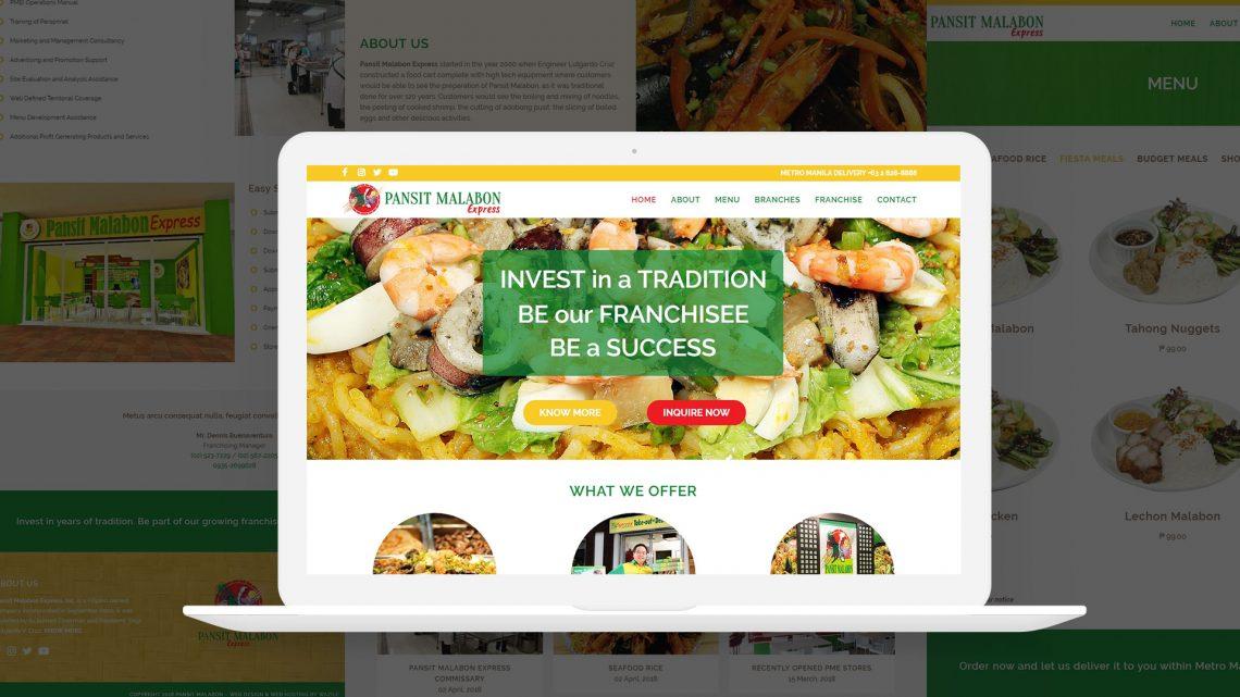 Pansit Malabon Website