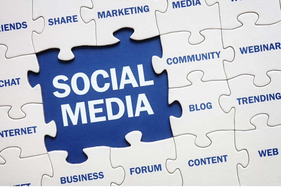 most used social media