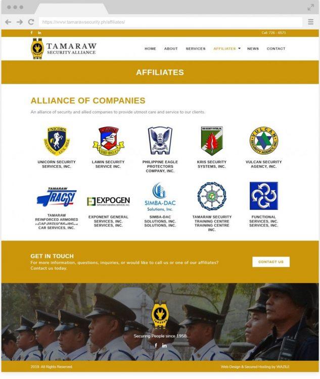 Tamaraw affiliates