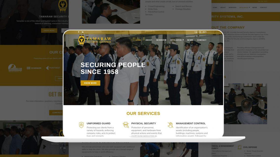 tamaraw website