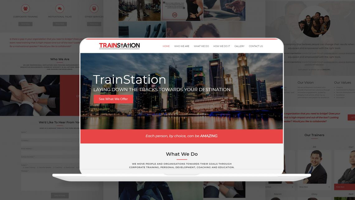 Trainstation Website