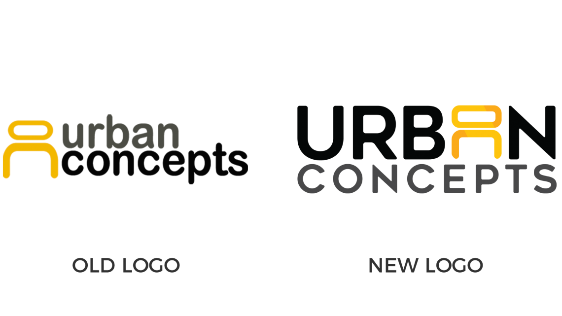Urban Concepts Logo Comparison