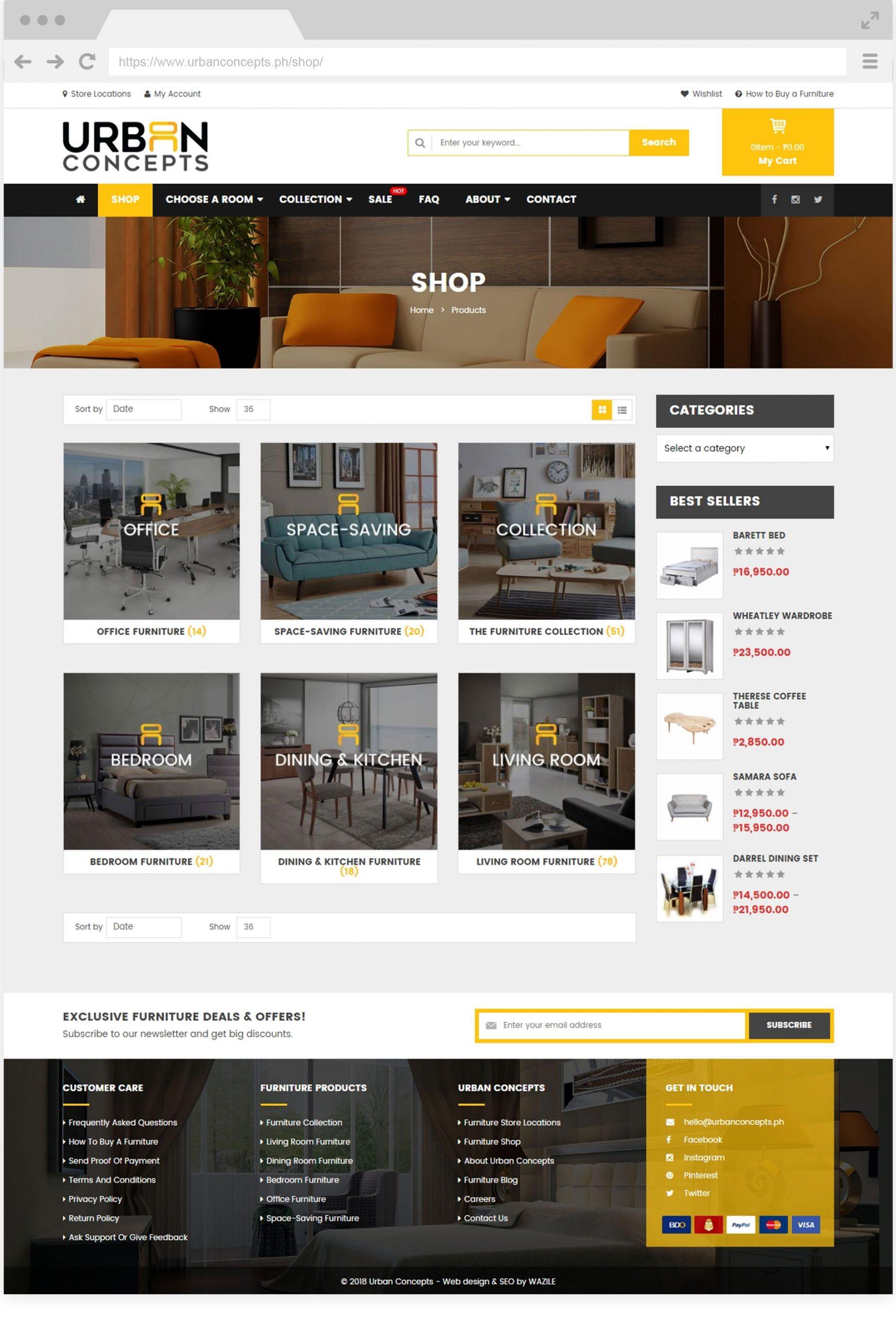 Urban Concepts Shop