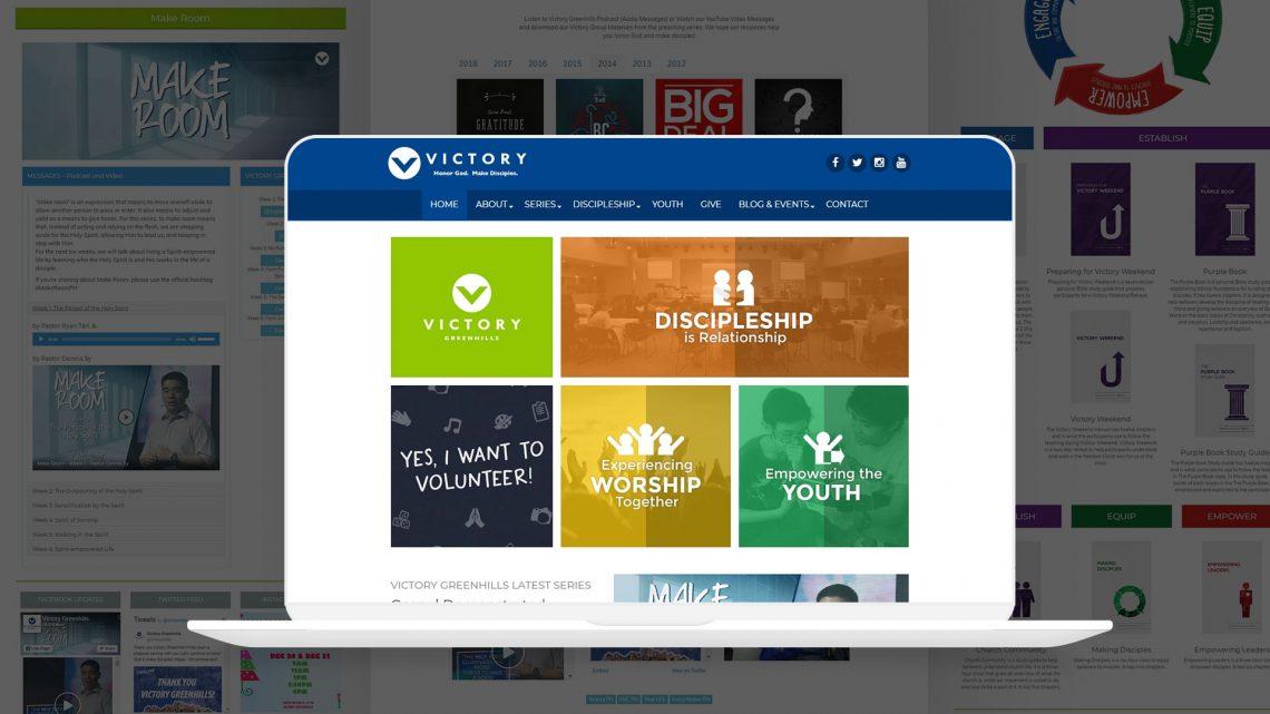 Victory Greenhills Website