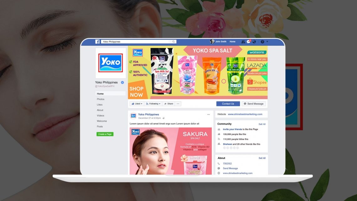 Yoko Philippines Facebook Page