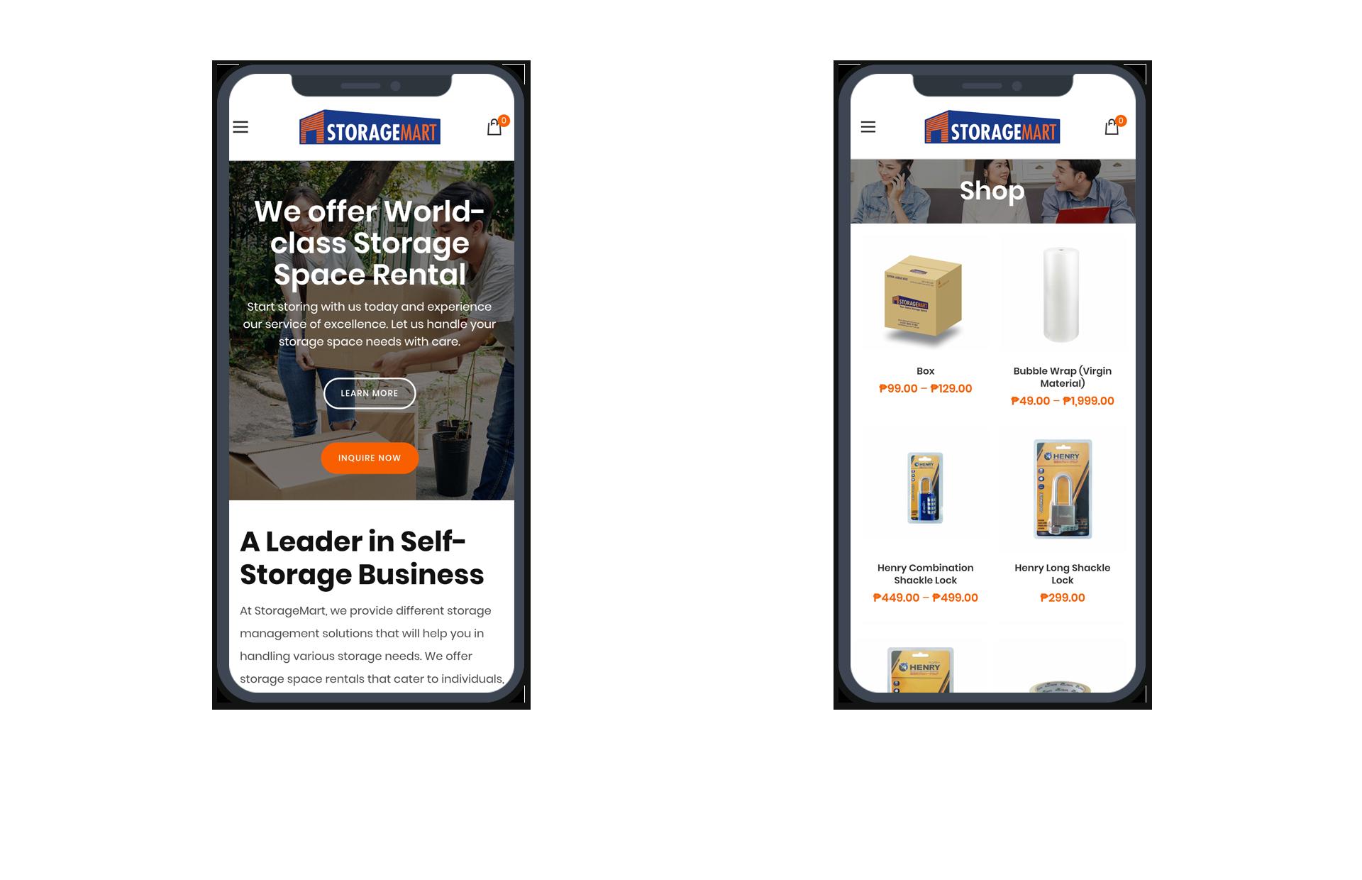 StorageMart Mobile