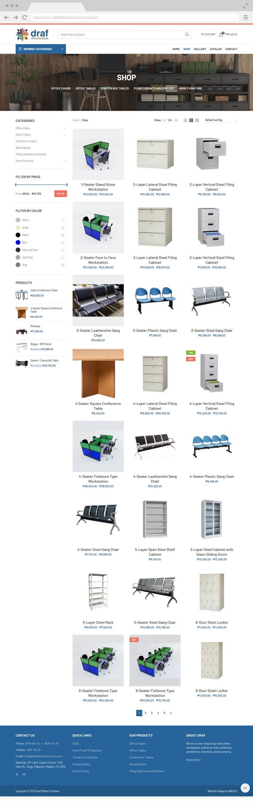 Draf Office Furniture Portfolio